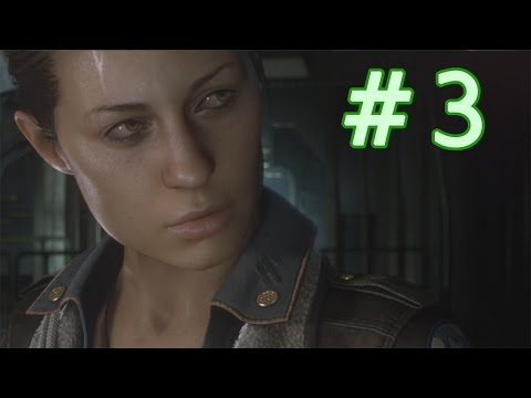 Let's Play Alien: Isolation (Blind) - Part 3 - Baggage claim