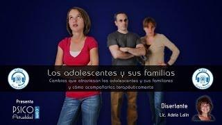 Videoconferencia: Los adolescentes y sus familias