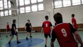 Районные соревнования по волейболу 2010