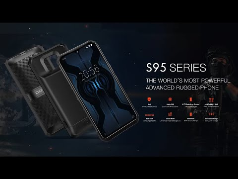 Doogee S95 Series – The World Modular Phone Pioneer, Indestrutible Rugged Expert.