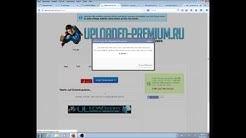 Tutorial | Uploaded.net gratis Premium Downloads | Deutsch (German)
