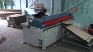 Boxmat 2400b- Box Making Machine At Work (boxmat Corrugated Cardboard Boxmakers)