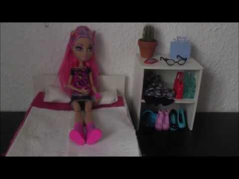 monster high bettw sche selber machen youtube. Black Bedroom Furniture Sets. Home Design Ideas