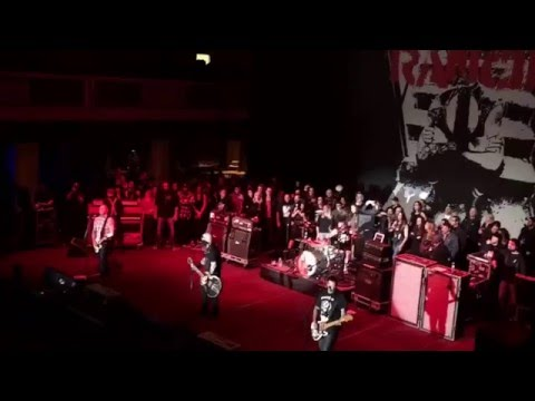 Rancid - Avenues and Alleyways (live) @ The Shrine New Years Eve