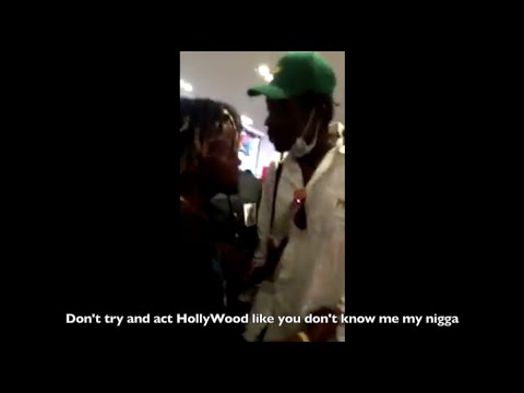 ORIGINAL Ian Connor Fight With A$AP Bari and Theophilus London in Paris - FULL FIGHT