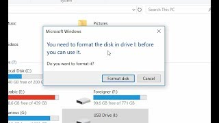 You need to format the disk before you can use it Solution 100% Working