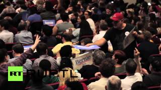 USA: Presidential hopeful Bernie Sanders courts voters in South Carolina