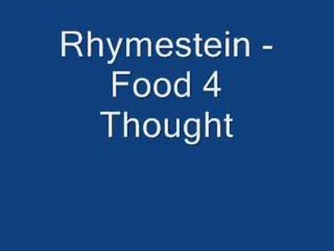Rhymestein - Food 4 Thought