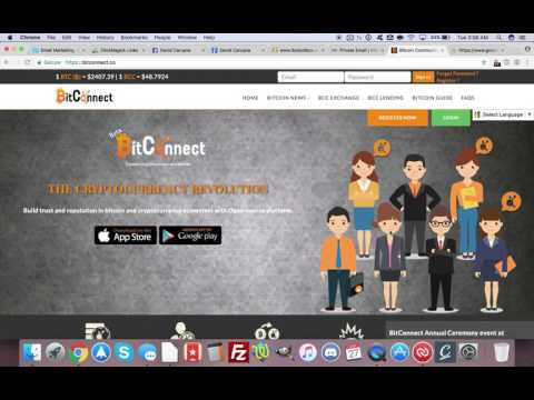 BITCONNECT - Turn $100 to $250k