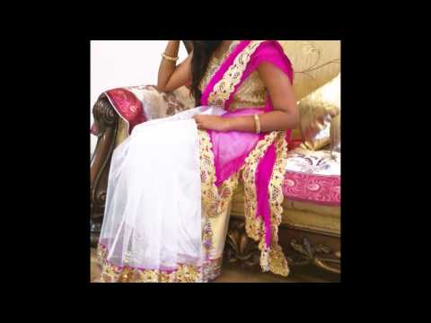 DIY [ Hindi] Beautiful Designer Saree--Pink Channel