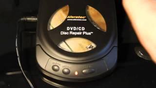 Aleratec DVD/CD disc repair plus review