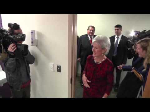 Sebelius to Resign Following Healthcare Rollout