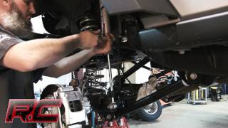 installing 2007 2016 jeep wrangler 4 inch x series suspension lift kit by rough country