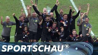 Faustball: Deutschland macht WM-Hattrick perfekt   Sportschau