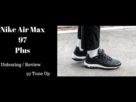 63d91ee1aec Nike Air Max 97 Plus Unboxing / Review . 97 TUNE UP