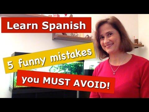 5 errores cómicos durante las clases de español