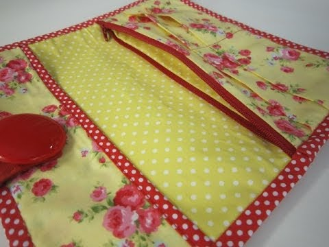 An easy wallet for you to sew by Debbie Shore