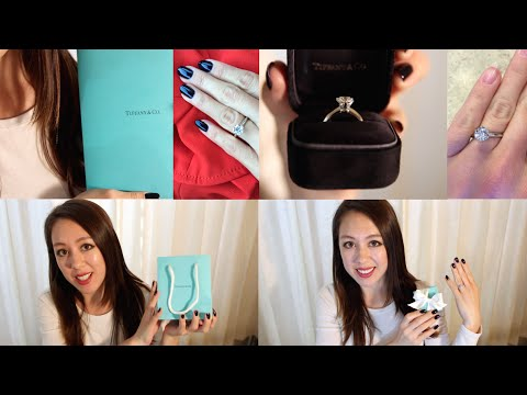 TIFFANY SETTING ENGAGEMENT RING | Unboxing