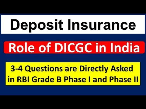 Deposit Insurance And Credit Guarantee Corporation – Deposit Insurance Corporation Act 1961