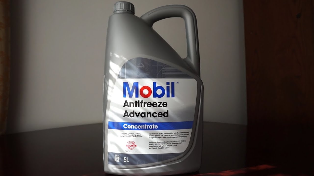Mobil Coolant Advanced Concentrate Renault Clio 3 Youtube Engine