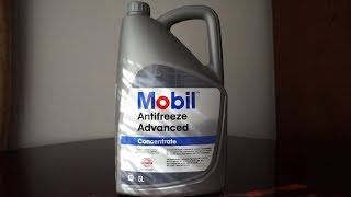 Mobil Coolant Advanced Concentrate Renault Clio 3