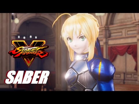 Street Fighter 5 Mod Adds Artoria Pendragon From Fate/Stay