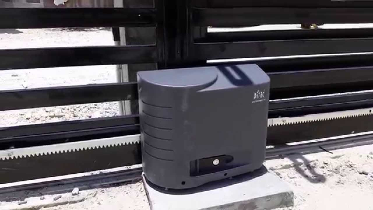 Ditec Automatic Gate Motor Youtube
