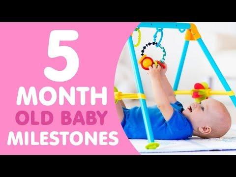 5 Month Old Baby Milestones