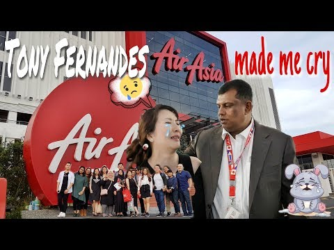 TONY FERNANDES AIRASIA MADE ME CRY