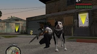 GTA san andreas: how to get a dog - (GTA san andreas dog)