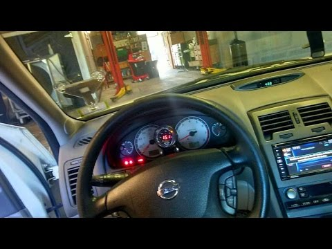 2002 Nissan Maxima with AEM Wideband AFR Gauge, Test