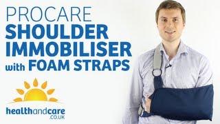 Procare Shoulder Immobiliser with Foam Straps