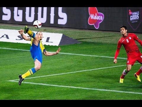 Zlatan Ibrahimovic vs Iran  ♦ Highlights♦  Sweden vs Iran 3:1 (Friendly Match)