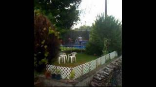 mom and chase on trampoline.mov Thumbnail