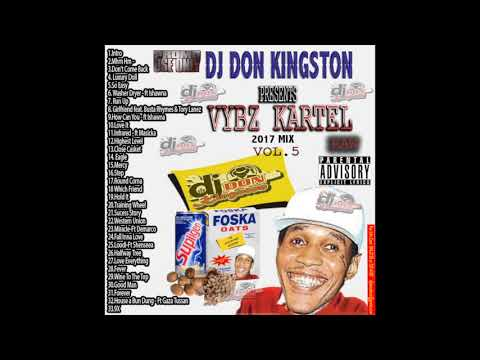 Dj Don Kingston Vybz Kartel Mix Oct 2017 Vol 5