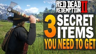 3 Secret Items You Need To Get! Red Dead Redemption 2 Hidden Items [RDR2]