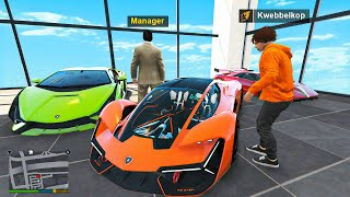 Stealing Every Lamborghini From The Showroom In GTA 5 RP!