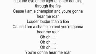 Roar by Katy Perry acoustic guitar instrumental cover with lyrics karaoke