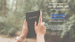 HTTL PHONG THỬ - Chương trình thờ phượng Chúa - 11/07/2021