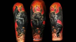 Video 101 Best Demon Tattoos With Meanings download MP3, 3GP, MP4, WEBM, AVI, FLV Agustus 2018