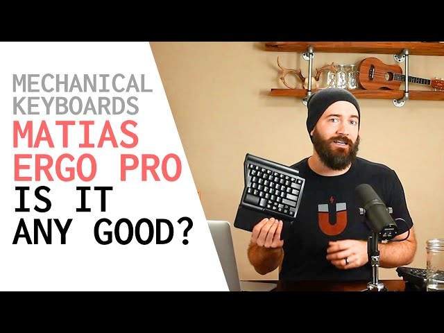 MECHANICAL KEYBOARD REVIEW - Matias Ergo Pro - Great Development Gaming Keyboard