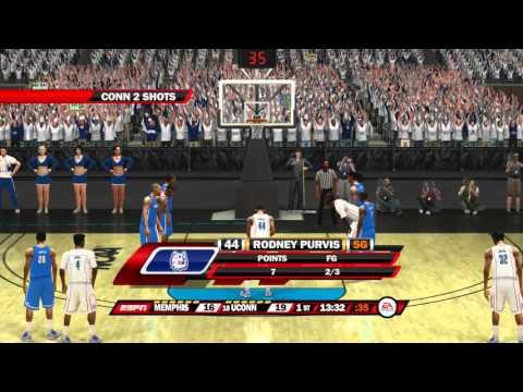 NCAA Basketball 10 For The 2016 Season Memphis Tigers vs UCONN Huskies