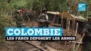 Colombie : les farcs déposent les armes