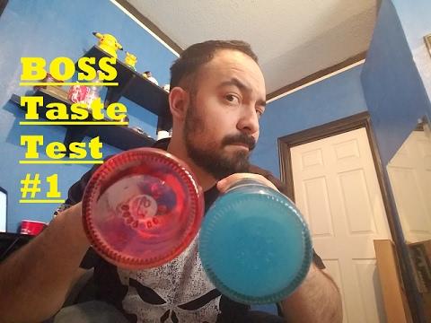 [BOSS TASTE TEST #1] 7-Eleven & Jones Soda Co. Sour Patch Watermelon & Blueberry Lemonade