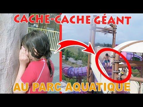 CACHE-CACHE AU PARC AQUATIQUE • Ft. Lorylyn Wave Island - Studio Bubble Tea Hide and seek