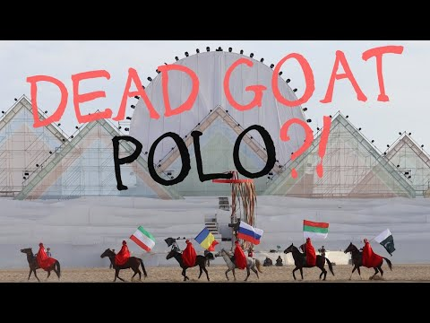 Kok Boru at World Nomad Games 2018 in Kyrgyzstan // Dead Goat Polo!