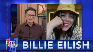 """Download """"You're Seeing A Sliver Of My Life At That Time"""" - Billie Eilish Talks To Stephen Colbert - EXTENDED"""