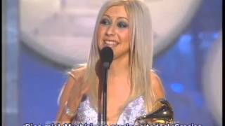Christina Aguilera - 1° Premio Grammy