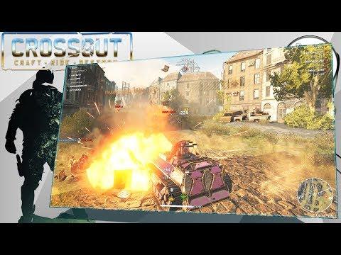 Crossout Игра со зрителями (4000-4500 ом Воскресенье +18 вторник +12)