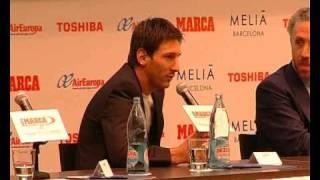 Messi recibió el MARCA Leyenda